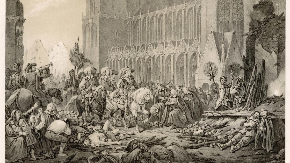 20 Mai 1631 Kaiserliche Truppen vernichten Magdeburg  WELT