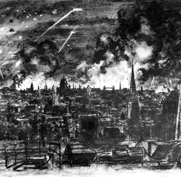 Zweiter Weltkrieg Der Blitz Ber London - Bilder & Fotos Welt