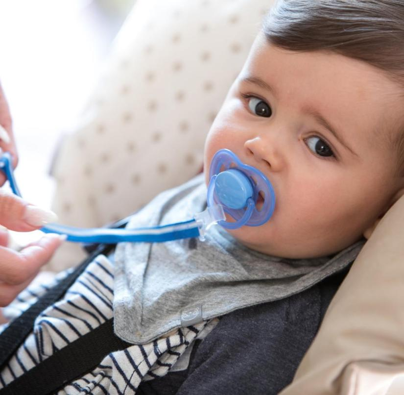 Pacifier suckling increases the risk of otitis media