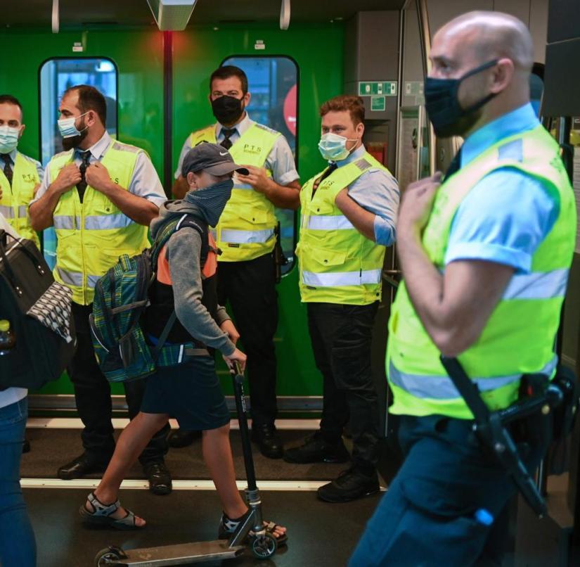 Mask compulsory check at Dortmund main station: The city authorities are already busy