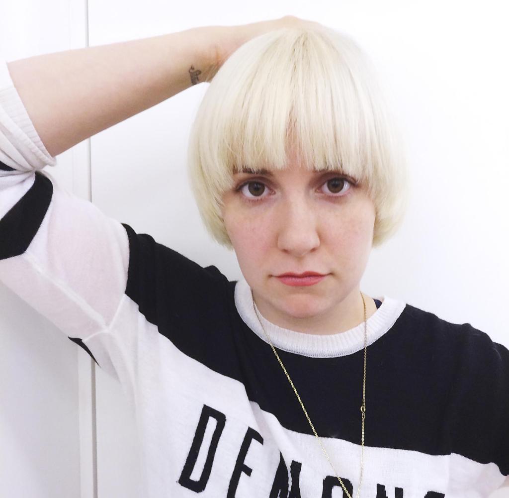 Neue Frisur Von Lena Dunham WELT