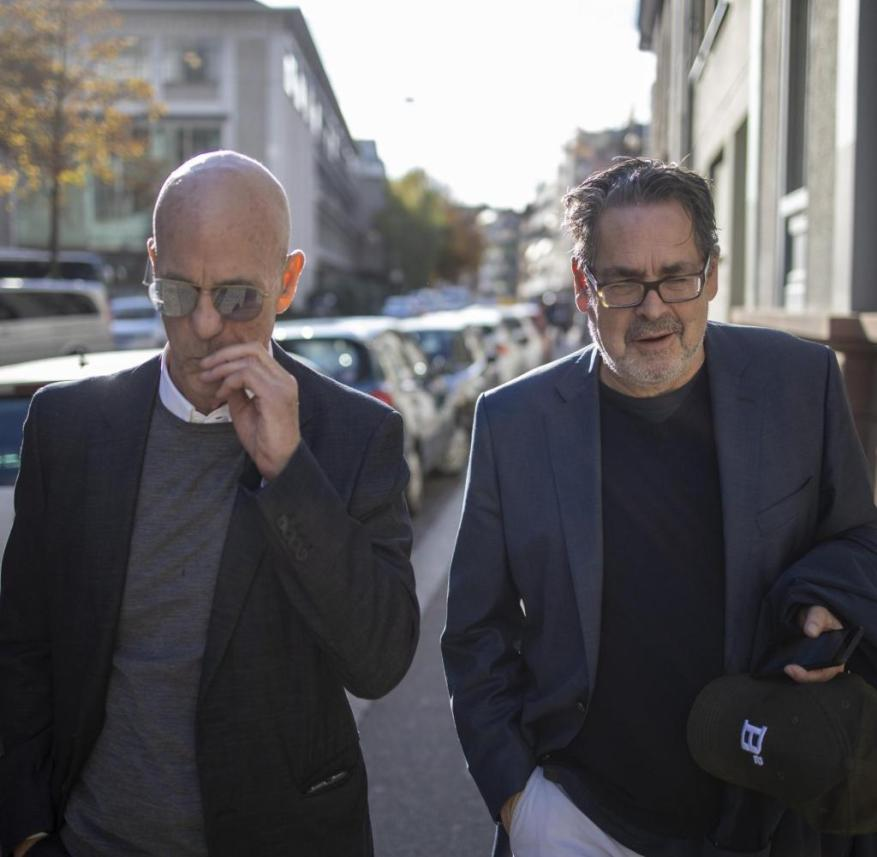 Udo Kittelmann and Jacques Herzog