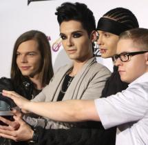 """Auszeichnungen Tokio Hotel Bekommt Den """"comet"""" Zum 11"""