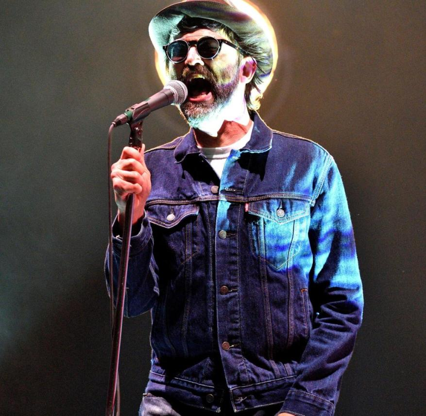 LONDON, ENGLAND - JULY 02: Mark Oliver Everett of Eels performs on stage at the O2 Academy Brixton on July 2, 2018 in London, England. (Photo by Gus Stewart/Redferns)