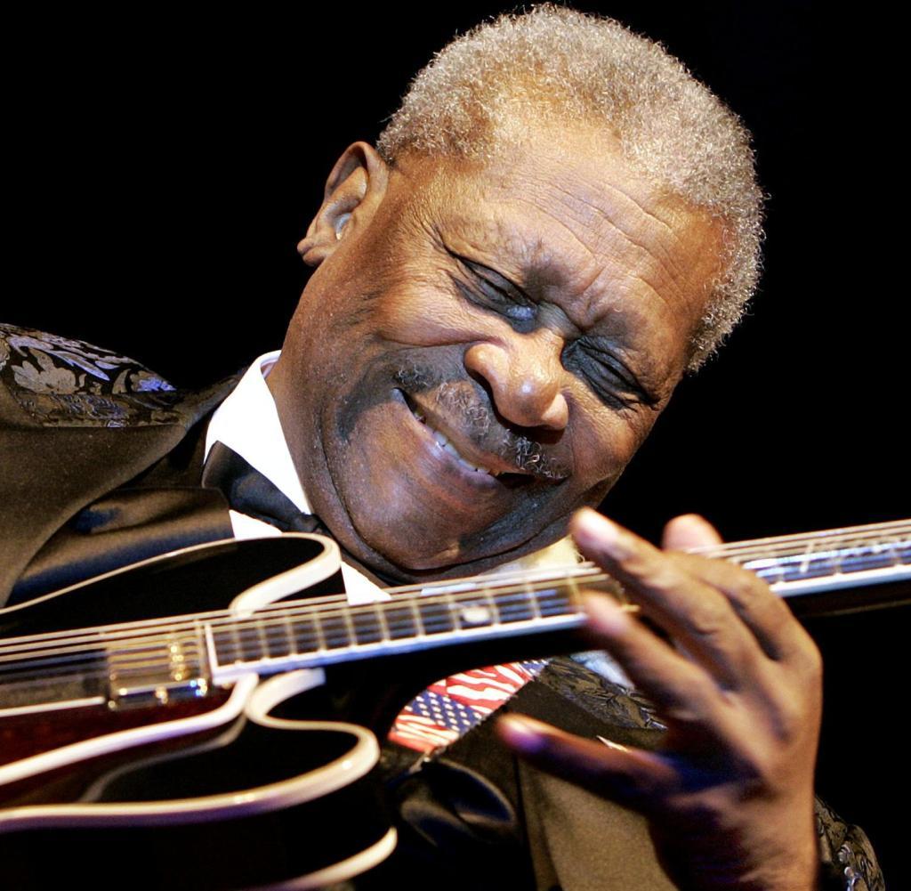 Tod Mit 89 Mit B B King Ist Auch Der Blues Gestorben