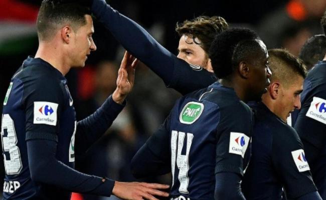 Sp Fußball Frankreich Pokal Paris Monaco Meldung Paris