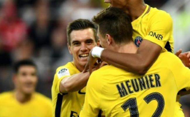 Sp Fußball Frankreich Paris Draxler Dijon Meldung Ligue 1