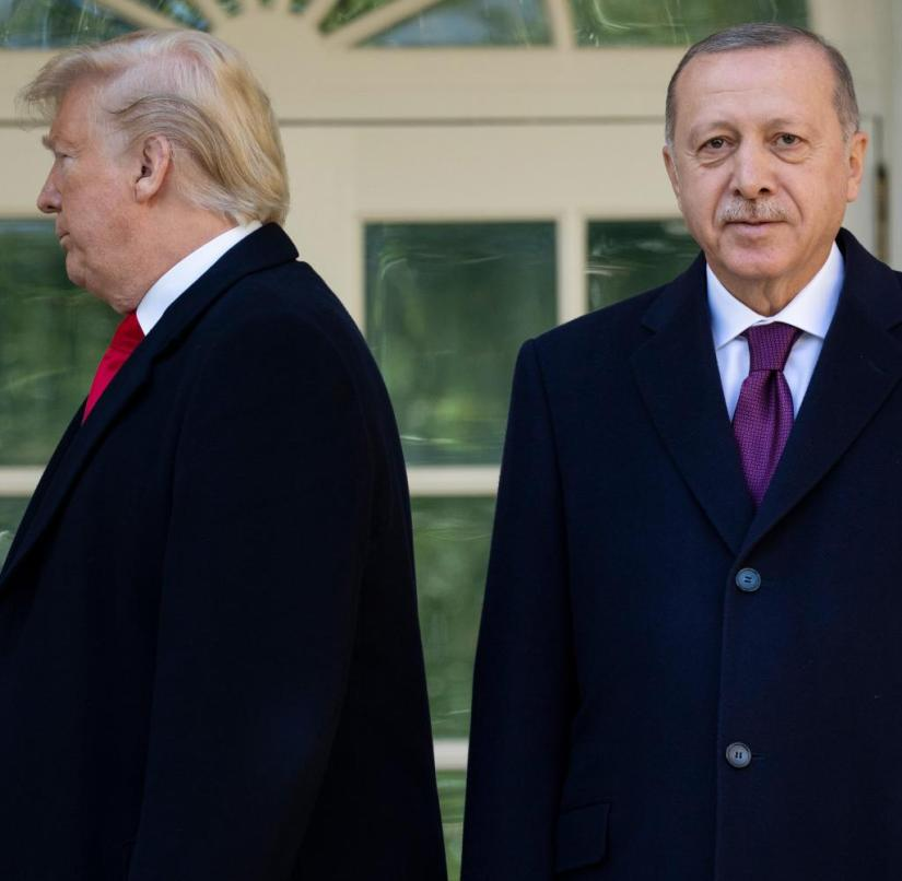 Trump receives Erdogan in the White House