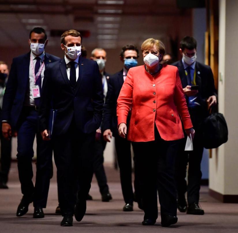 EU leaders summit on virus recovery package