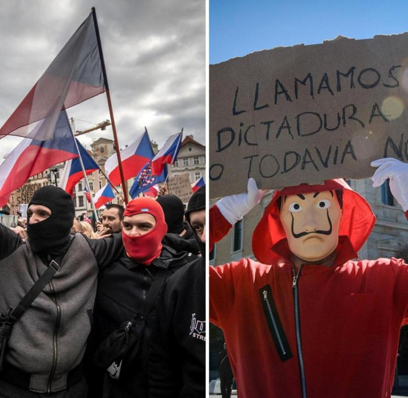 Kombo Corona Protests
