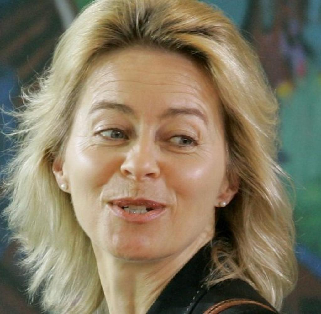 Frisurrevolte Ursula von der Leyen lsst die Haare wehen