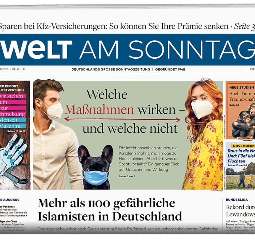 Welt am Sonntag from October 25, 2020