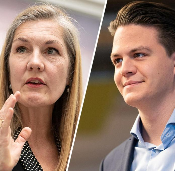 Veronika Kienzle (Greens) is out: Will the non-party Marian Schreier (center) conquer Stuttgart's town hall?  He has to beat Frank Nopper (CDU) among others