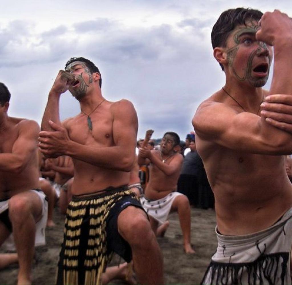 Haka  Der Kriegstanz der neuseelndischen Maori Bilder