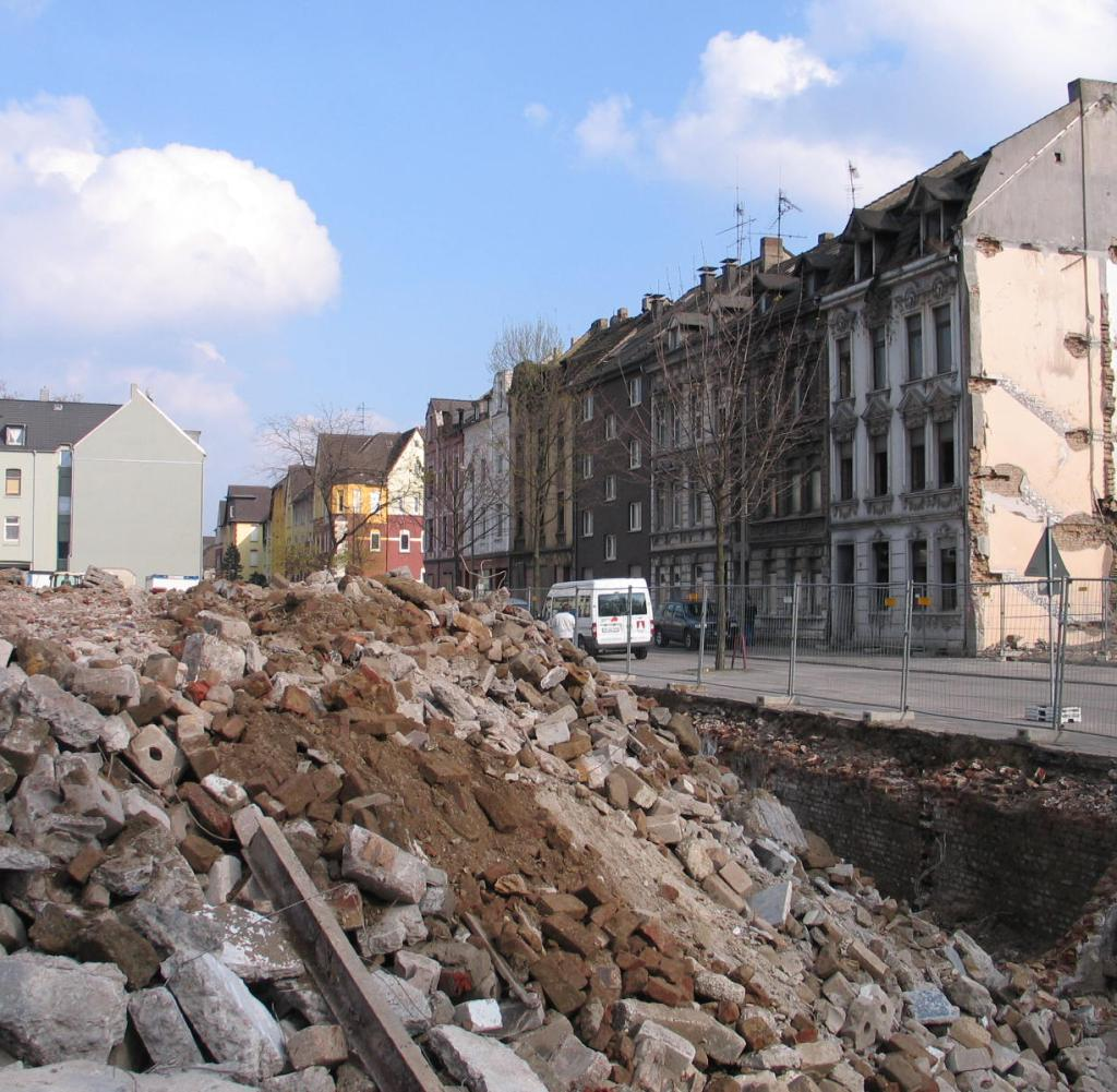 Stadtentwicklung Duisburg beseitigt einen ungeliebten