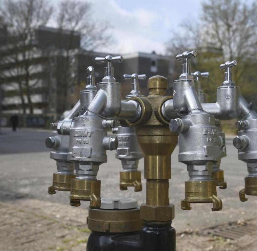 Wohnungen im Wollepark bleiben ohne Gas und Wasser  WELT