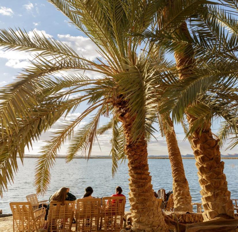 Fatnas Island (Siwa Oasis, Egypt)