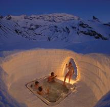 Iglu-hotels Bernachten In Einer Welt Aus Eis Und Schnee