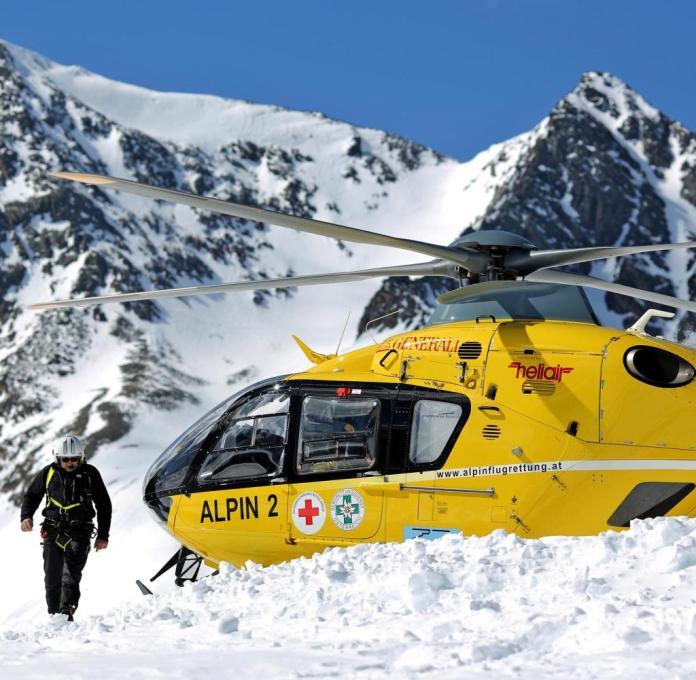 Rettung mit dem Hubschrauber in den Alpen: Die Flugminute kostet bis zu 90 Euro
