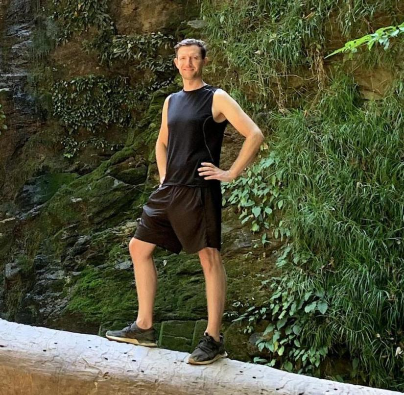 Relaxed in Thailand: Martin Lewicki is stranded on an island
