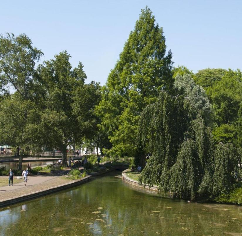 North Rhine-Westphalia: The Pader originates in Paderborn from a good 200 sources