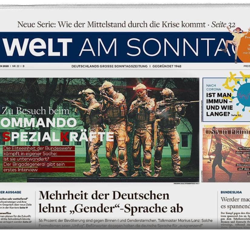 WELT AM SONNTAG from May 31, 2020