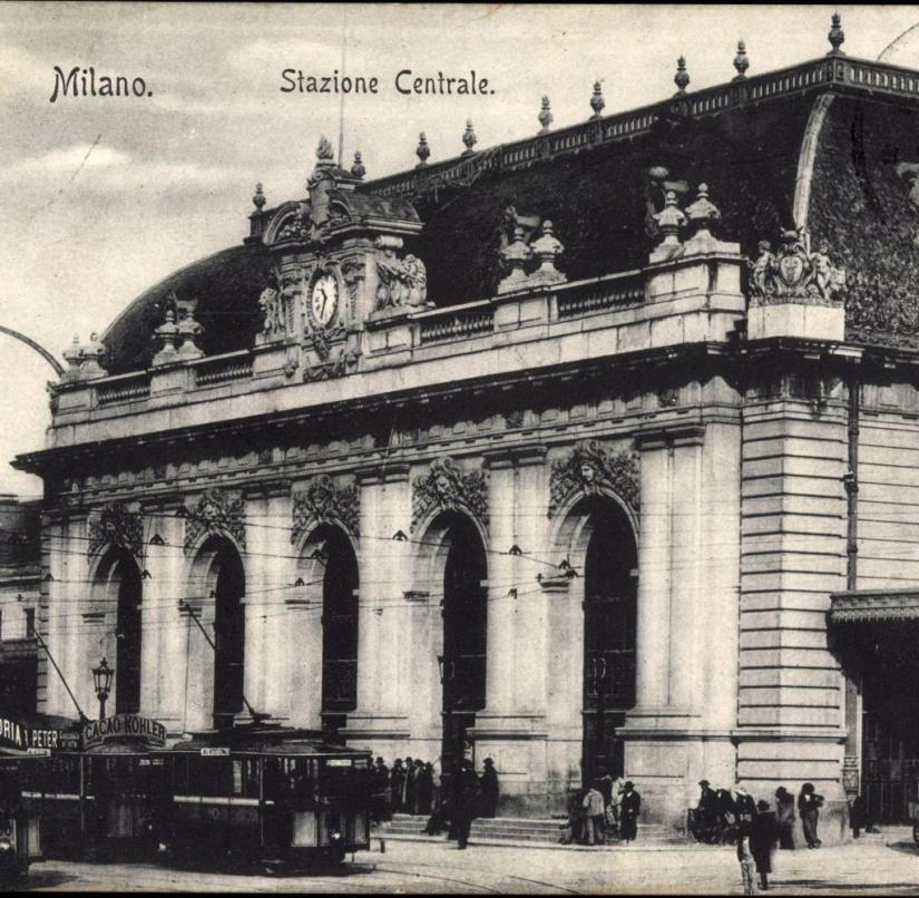 Italy: The Stazione Centrale terminus in Milan was opened in 1931