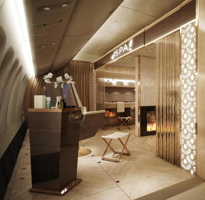 At Dubai Aviation, engineers are working on retractable cabins that can be exchanged as modules as required