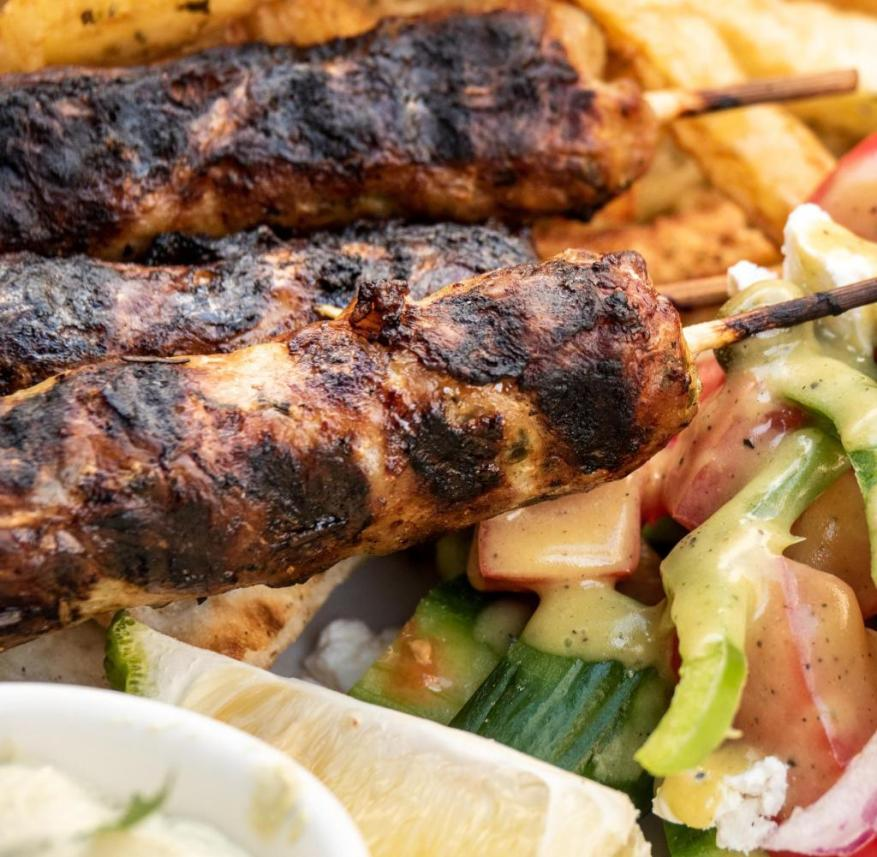 Cyprus: Sheftalia are grilled minced meat sausages