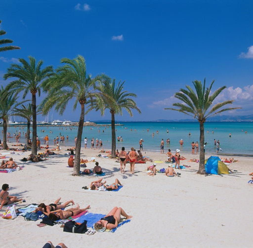 playa de palma bilder fotos
