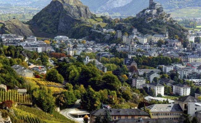 Wallis In Der Schweiz Sion Kann Auch Ohne Olympia