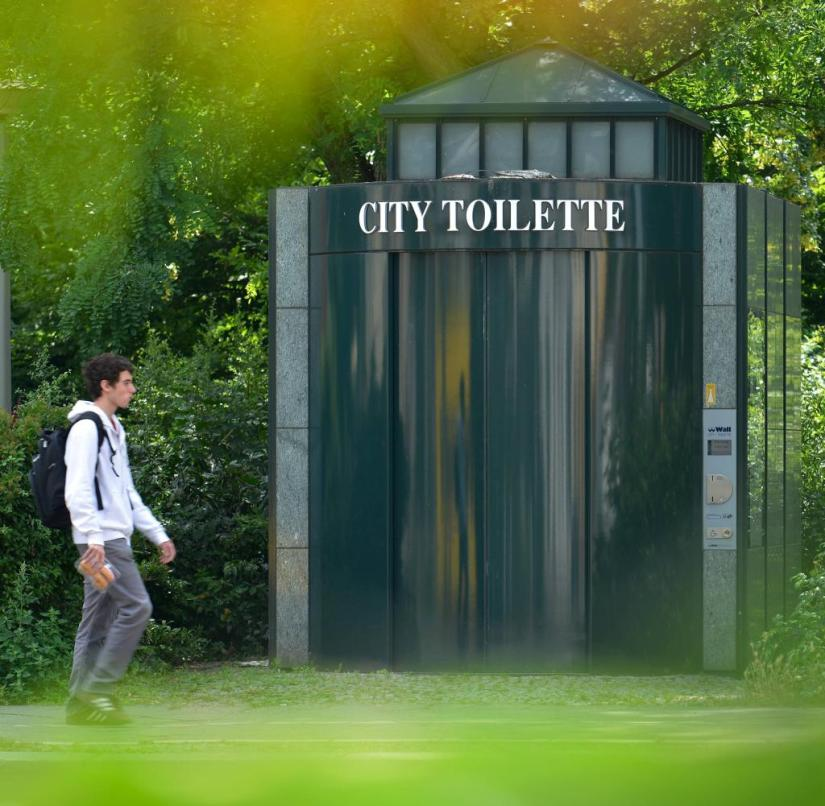 There is also a shortage of public toilets in Berlin: just 260 systems are spread across the entire city