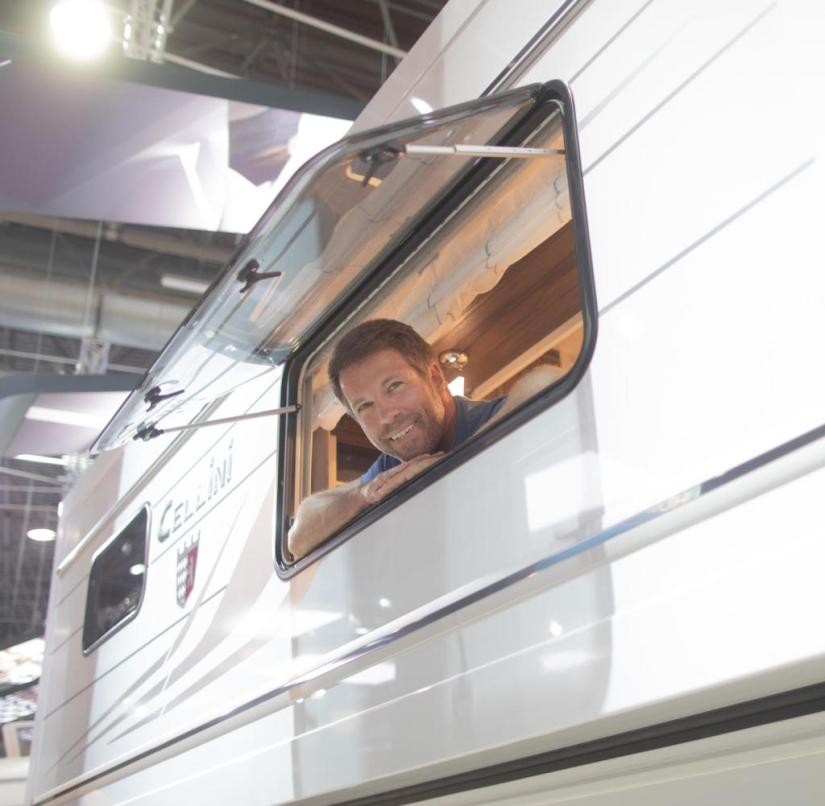 """Again """"at home"""": The Caravan Salon is one of the first trade fairs to reopen after a long break"""