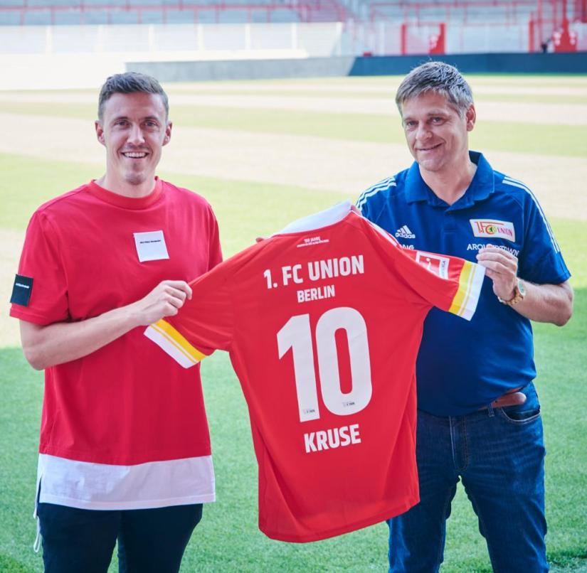 Union Berlin presents new addition Kruse