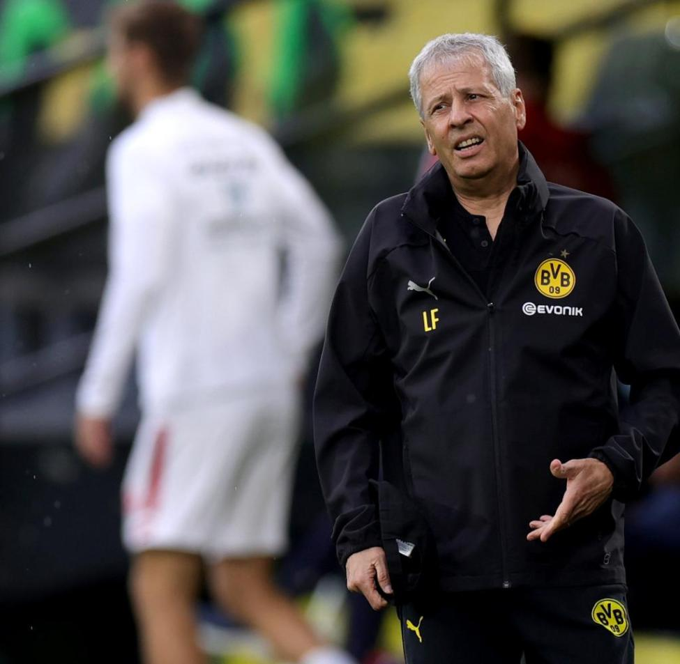More than an emergency nail: In June 2018, Lucien Favre took over as head coach at Borussia Dortmund