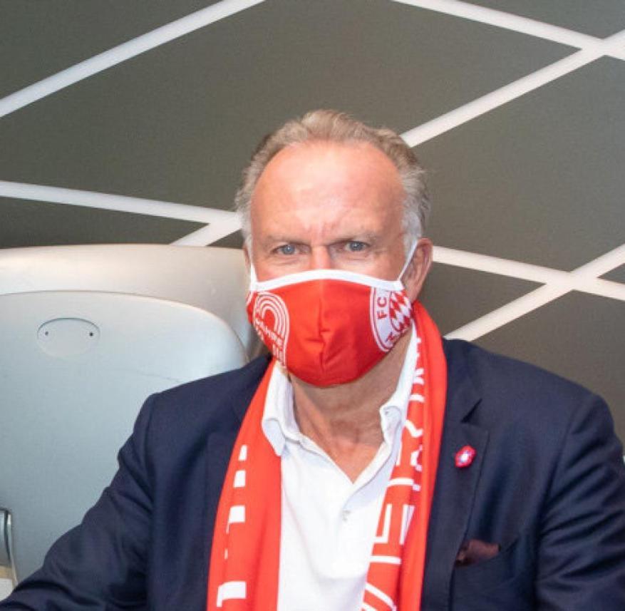 Coronavirus - FC Bayern face masks