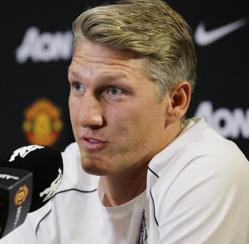FC Bayern München Oder Manchester United Bastian Schweinsteiger