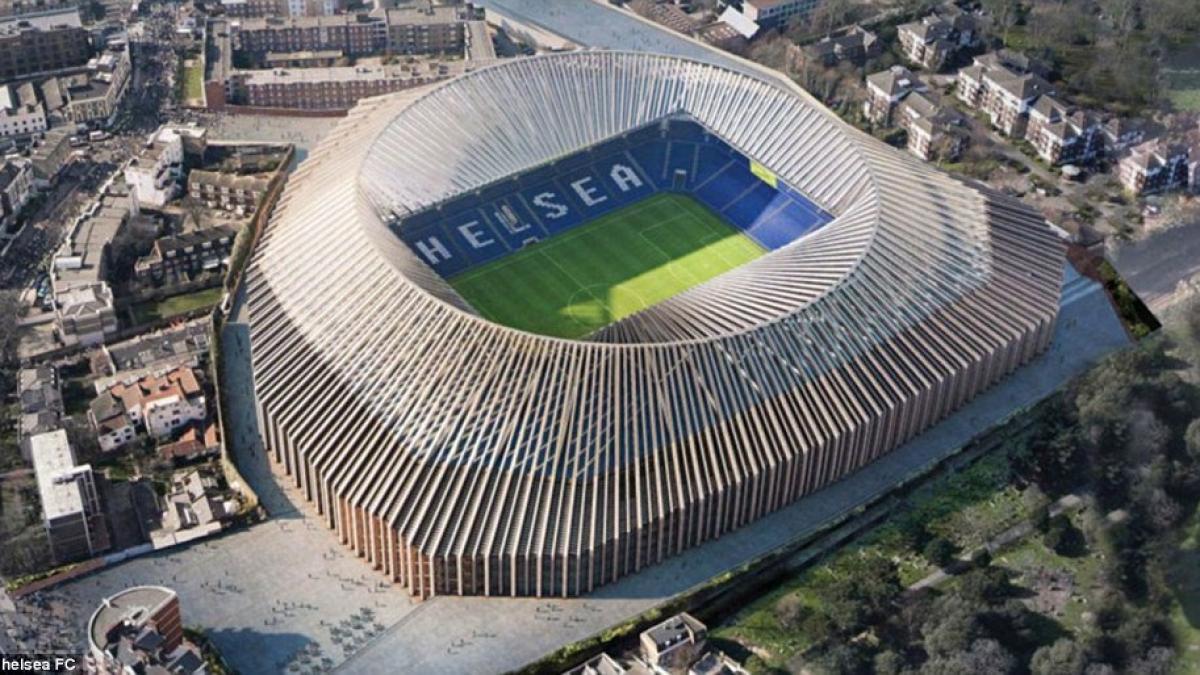 fc chelsea neues stadion an der