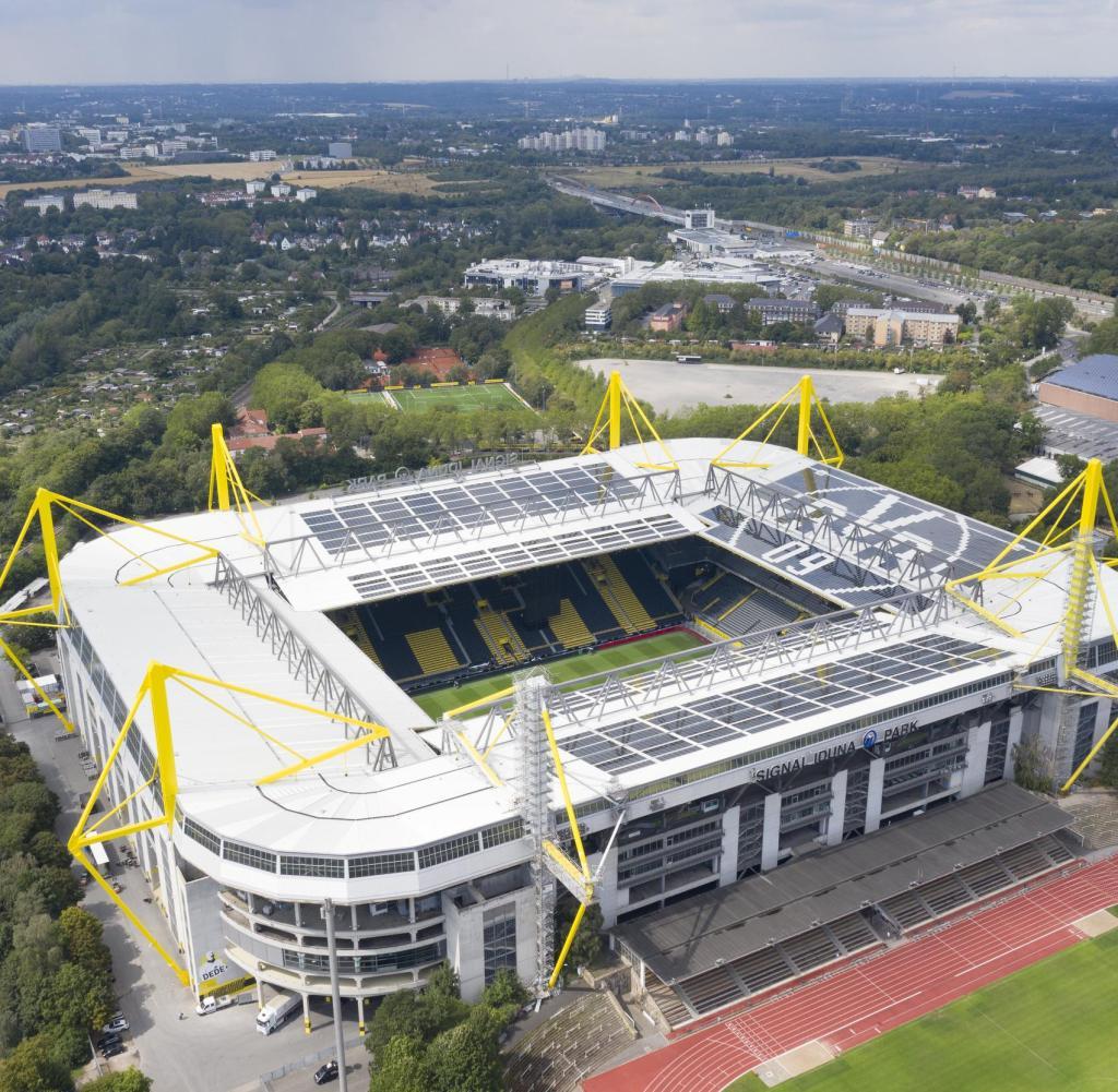 Stadium photos Borussia Dortmund