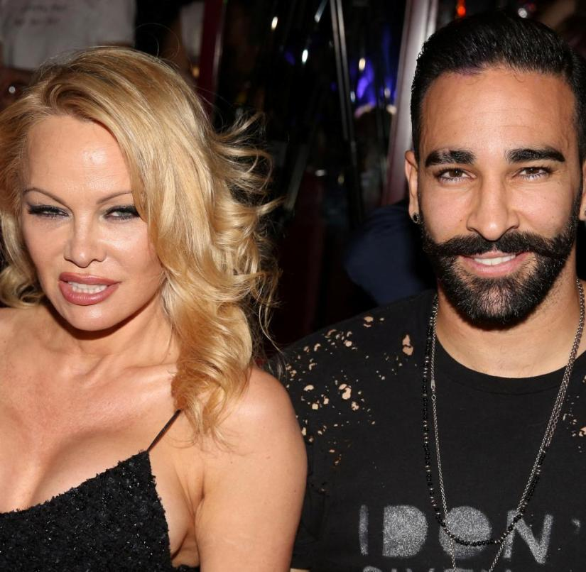 Violence?  Defamation?  Pamela Anderson and Adil Rami broke up in an argument