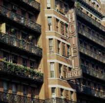 """Manhattan Ist Das Legend Hotel """"chelsea"""" Noch Zu"""