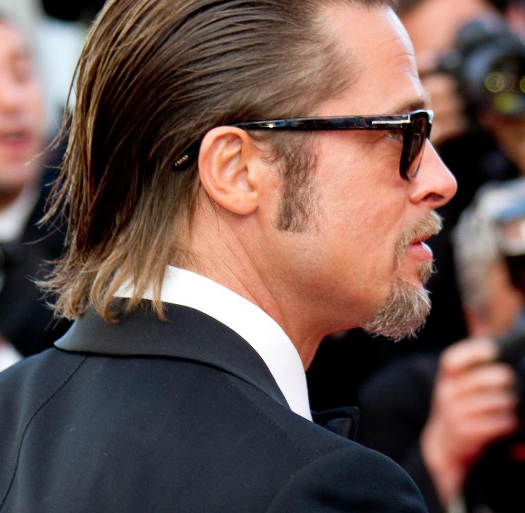 Haare Ab Neue Frisur Für Brad Pitt Bilder & Fotos WELT