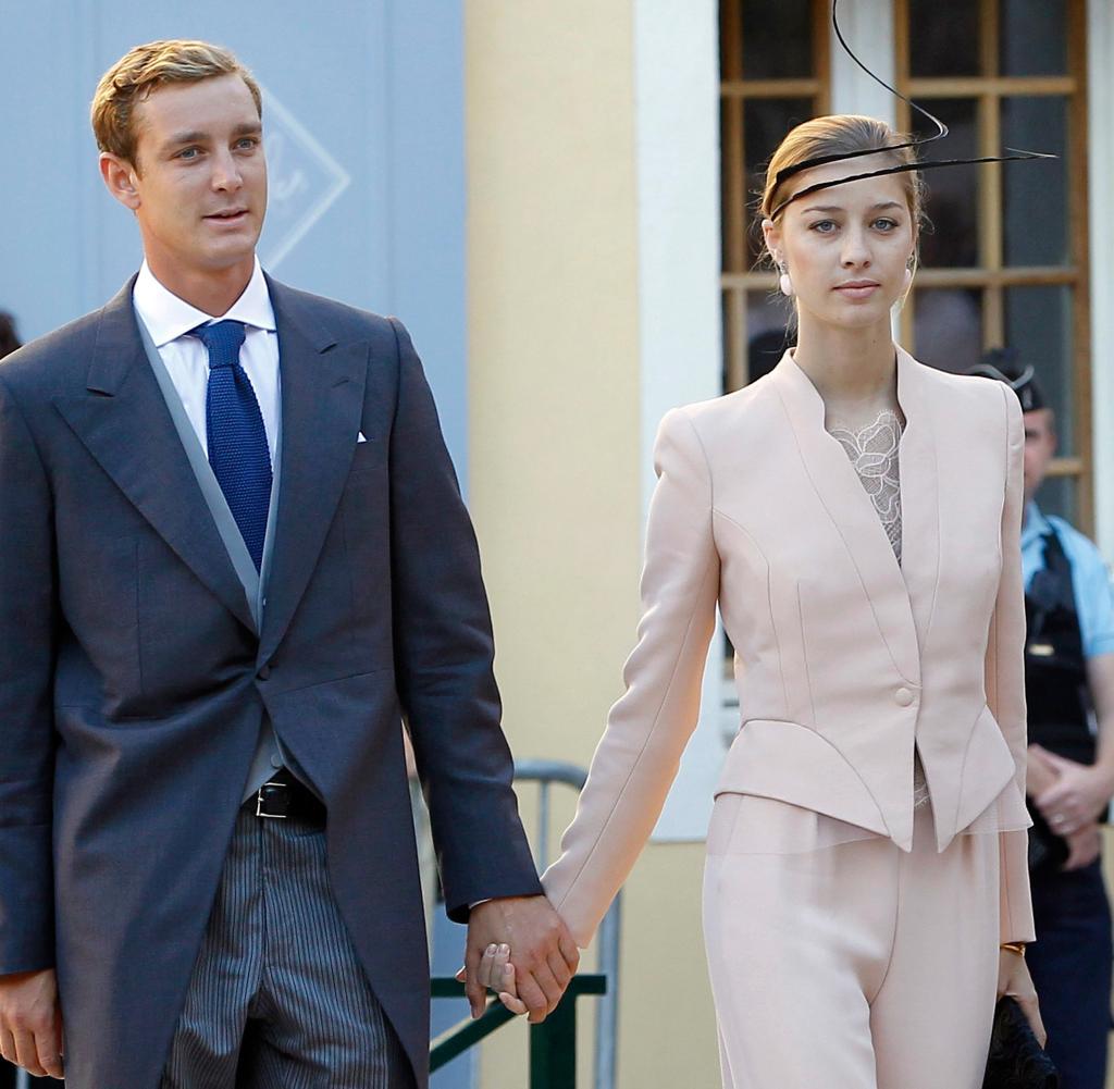 Monacos Pierre Casiraghi und Beatrice Borromeo haben