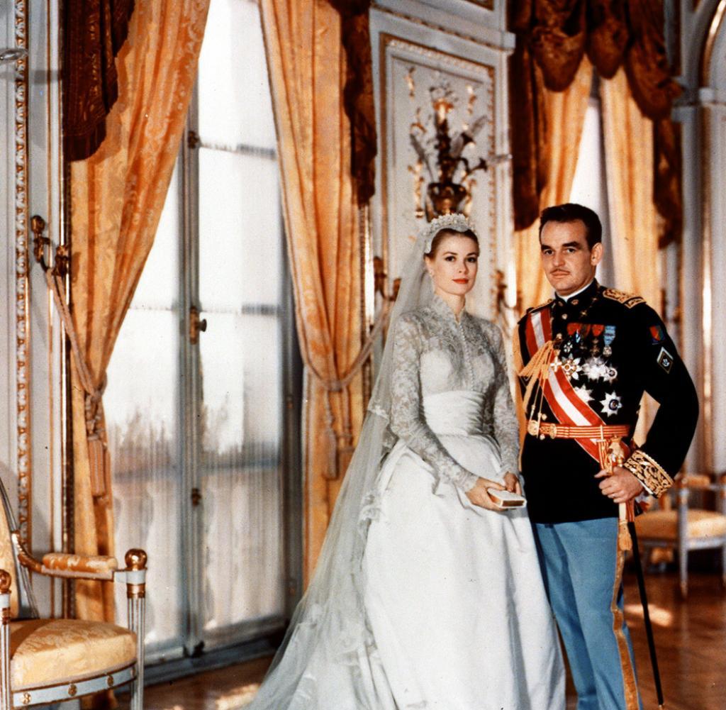Monaco Die Hochzeit von Grace Kelly und Frst Rainier  Bilder  Fotos  WELT