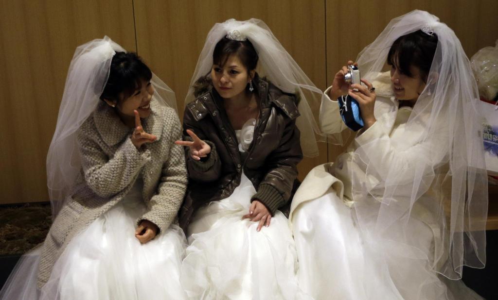 Vereinigungskirche 3500 Brautpaare  Sekte feiert Massenhochzeit  WELT