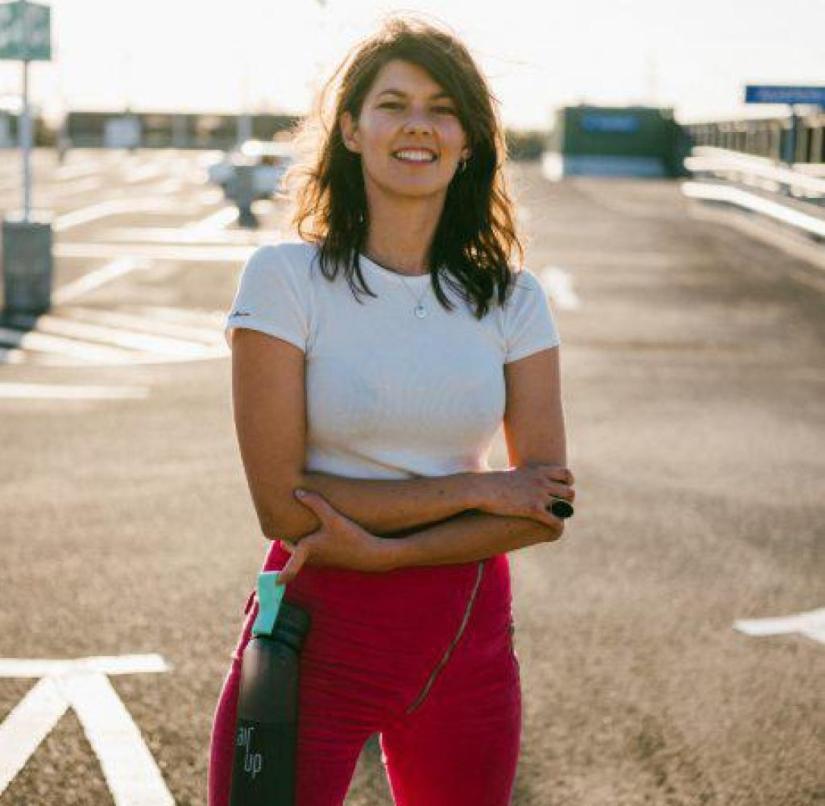 Founder fresh from university: Lena Jüngst