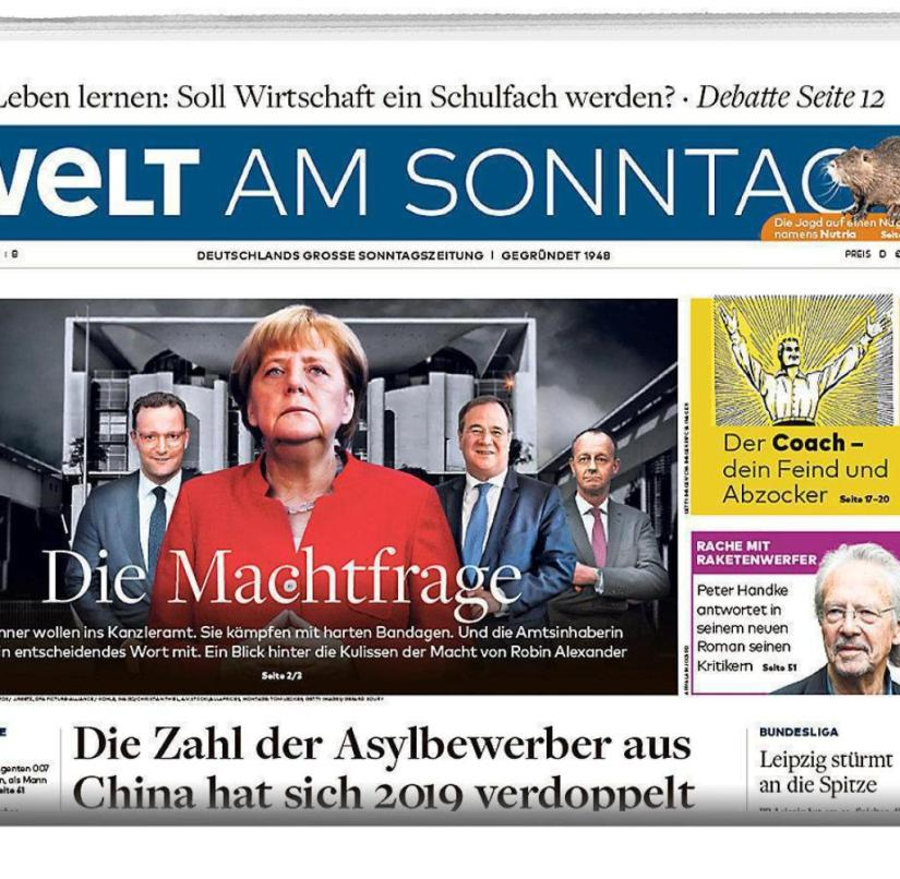 WELT AM SONNTAG from February 16, 2020