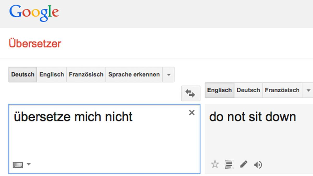 Darum funktioniert Google Translate nicht perfekt - WELT