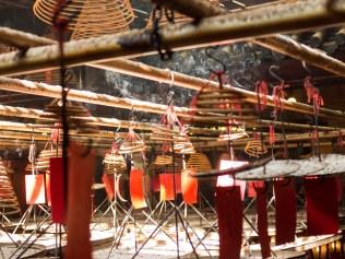 Hong Kong im Tempel