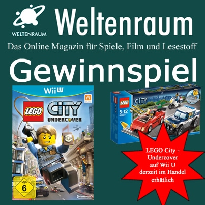 Gewinnspiel Lego City Undercover